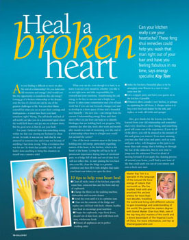 Soul & Spirit magazine, Energy Specialists Mend a Broken Heart