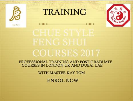 Chue style feng shui course dates 2017