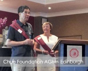 Master Chan & Kay at The Chue Foundation AGM 2013 in Edinburgh