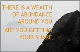 There is a wealth of abundance
